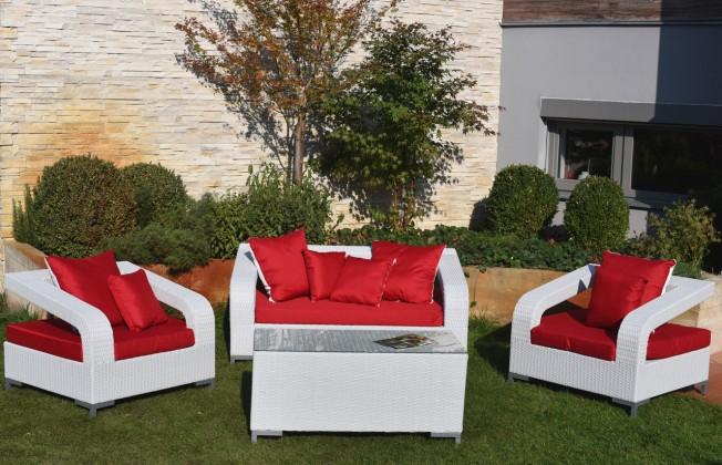 Zahradní sety Bourdeaux set (bílá)