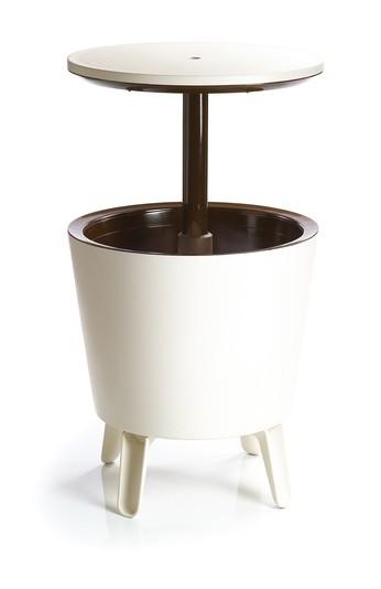 Zahradní stůl Cool Bar  (krémová,čokoládová)