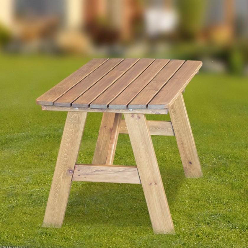 Zahradní stůl Cordoba - Stůl (přírodní bez povrchové úpravy)