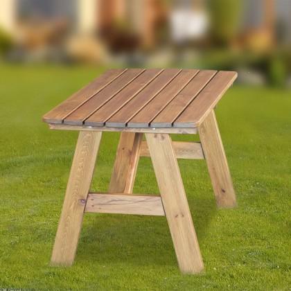 Zahradní stůl Cordoba - Stůl (přírodní - bezbarvě impregnované)