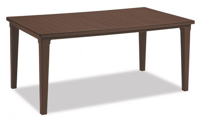 Zahradní stůl Futura - Stůl (hnědá)