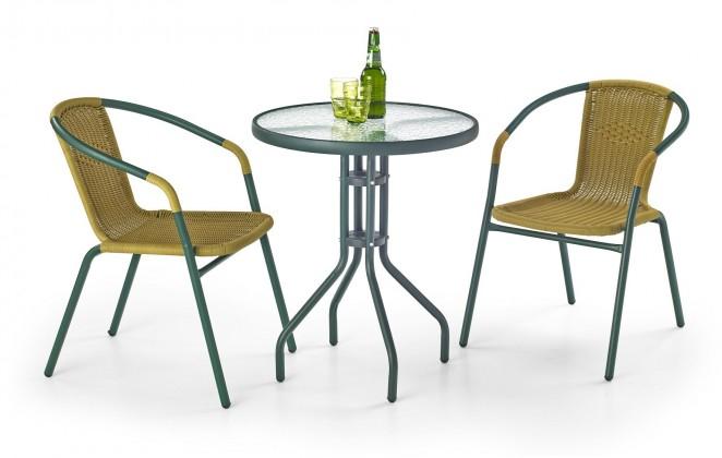 Zahradní stůl Grand 60 (tmavě zelený)