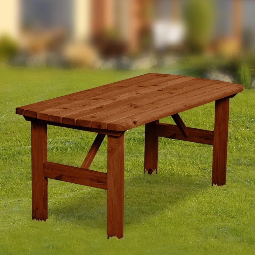 Zahradní stůl Mallorca - Stůl (ořech)