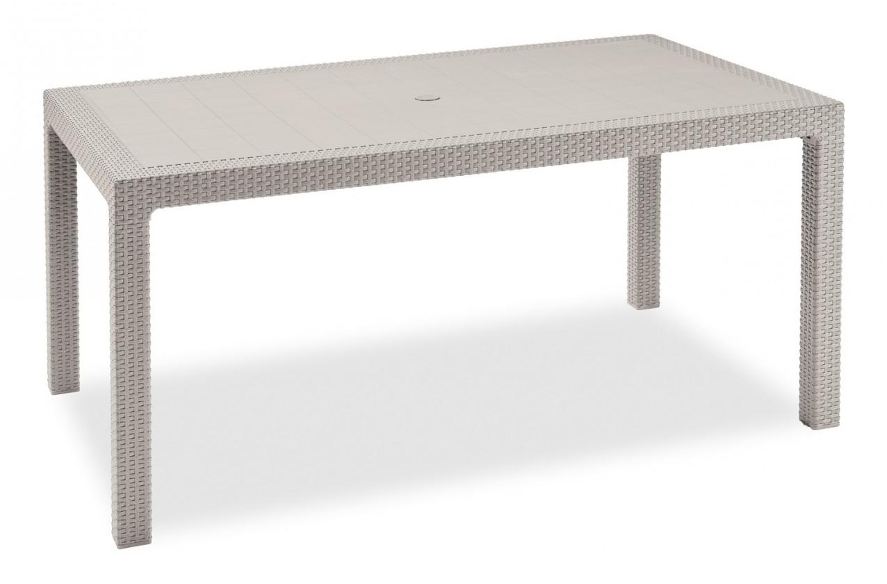 Zahradní stůl Melody - Stůl, 161 cm (bílá)