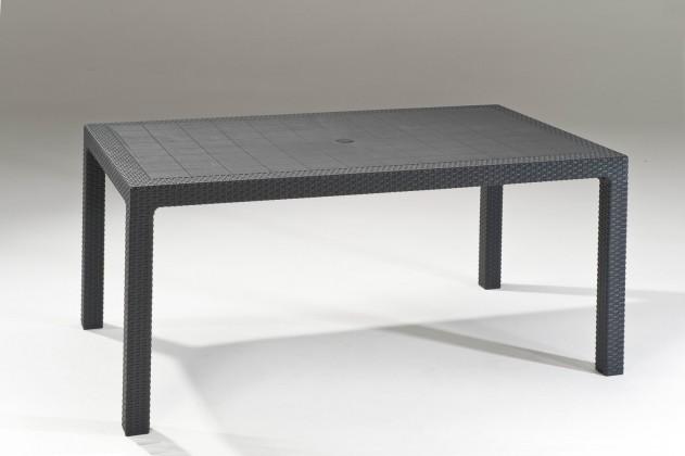 Zahradní stůl Melody - Stůl, 161 cm (graphite)