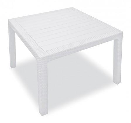 Zahradní stůl Melody - Stůl, 95 cm (bílá)