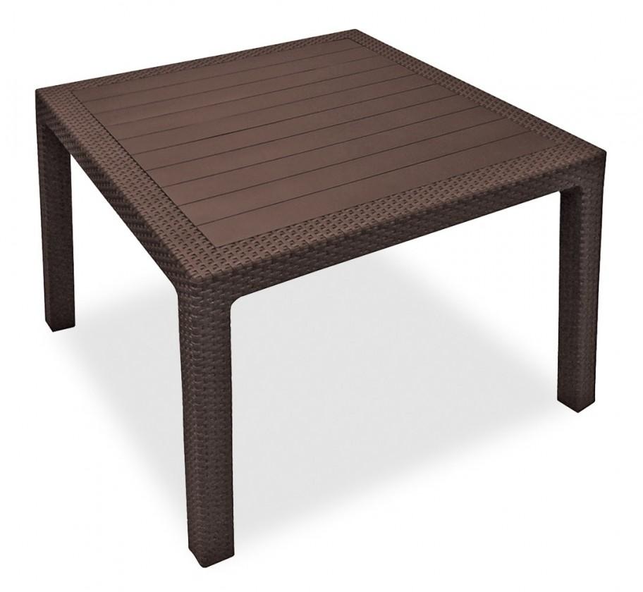 Zahradní stůl Melody - Stůl, 95 cm (hnědá)