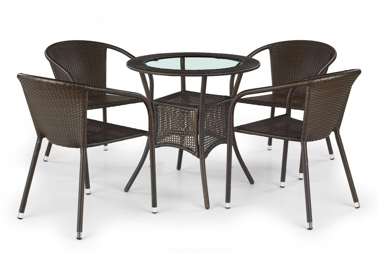 Zahradní stůl Midas (tmavě hnědý)