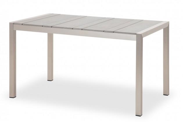 Zahradní stůl Nova - Stůl (leštěný hliník)