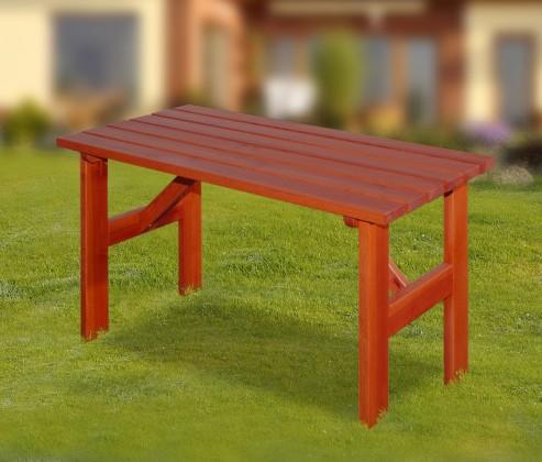 Zahradní stůl Porto - Stůl (mahagon)