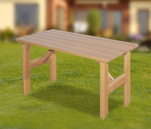 Zahradní stůl Porto - Stůl (přírodní bez povrchové úpravy)