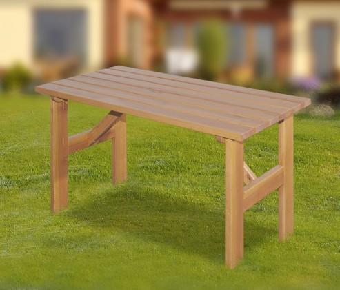 Zahradní stůl Porto - Stůl (přírodní - bezbarvě impregnované)