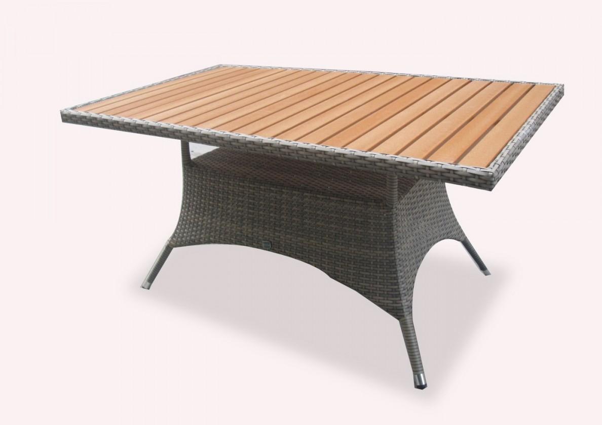 Zahradní stůl Rimini - Jídelní stůl (šedá)