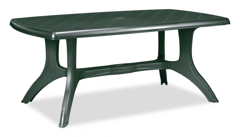 Zahradní stůl Wellington - Stůl (tmavě zelená)