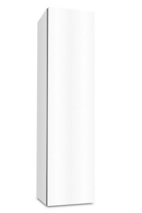 Závěsná Brisbane - závěsná skříň nízká,panty vpravo (bílá)
