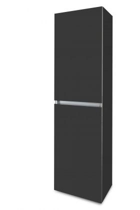 Závěsná Brisbane - závěsná skříň vysoká,panty vlevo (antracit)