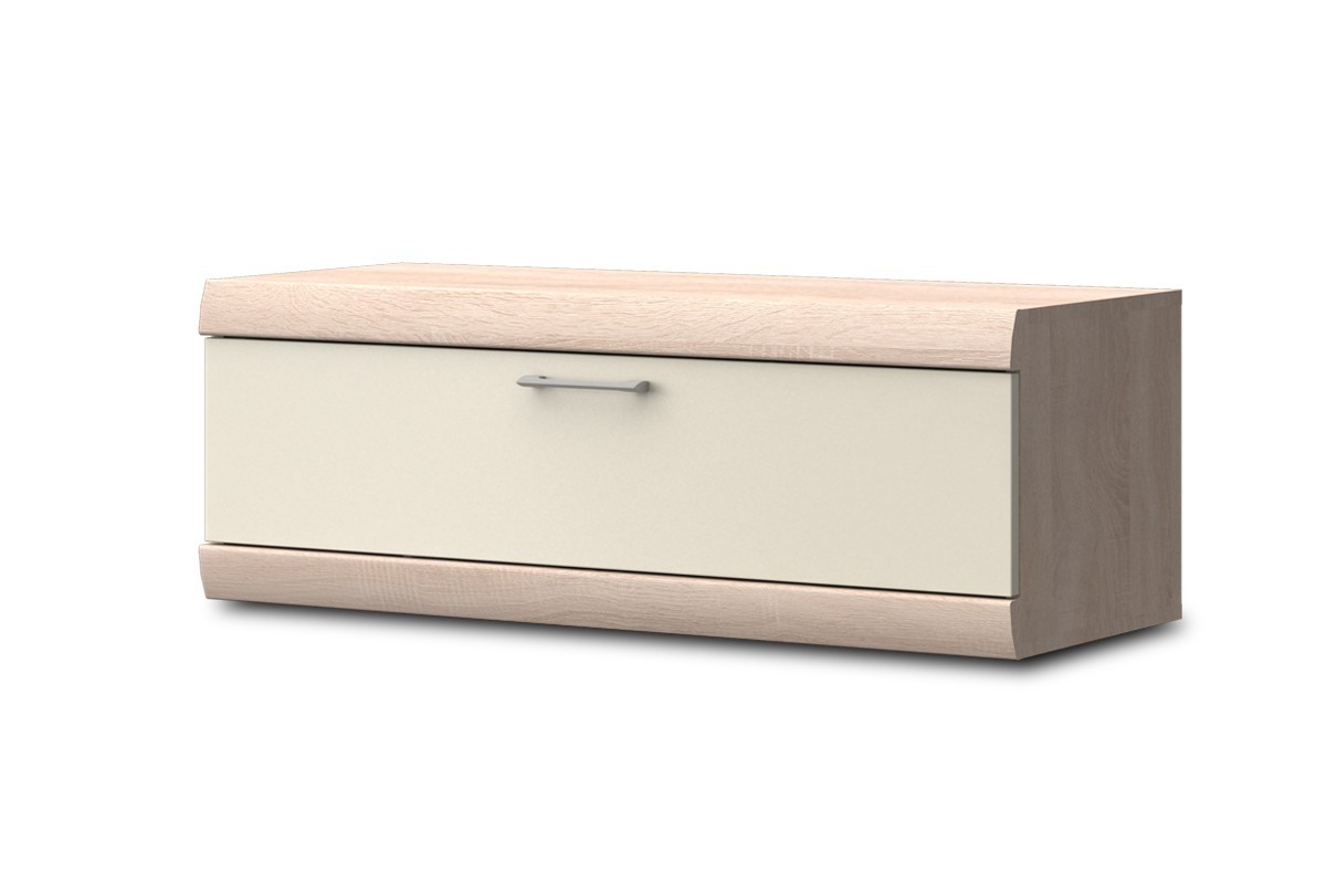Závěsná skříňka Baira Typ 07 (Dub Bardolino/Vanila VL)