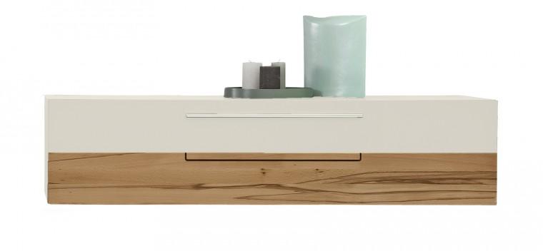 Závěsná skříňka Feel - Závěsný prvek s klopnou 4071505 (bílá/divoký buk/bílá)