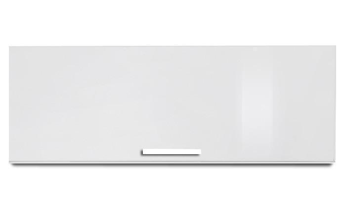 Závěsná skříňka Game plus - závěsný prvek s klopnou, 90 cm (bílá/bílá lak HG)