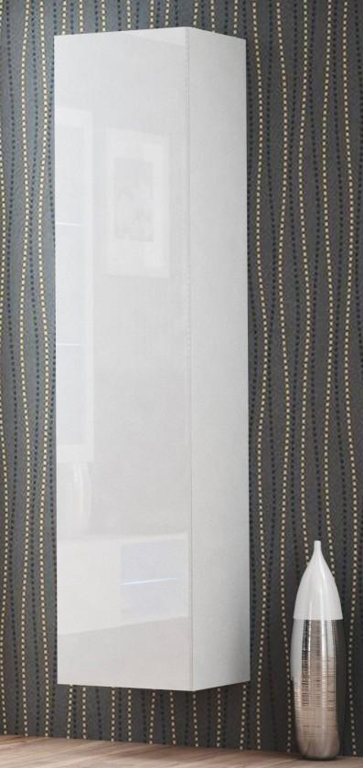 Závěsná skříňka Livo - Závěsná skříňka 180 (bílá mat/bílá lesk)