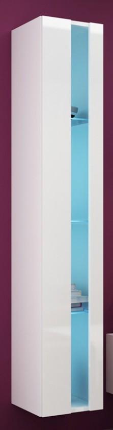 Závěsná skříňka Vigo - vitrína, 1x dveře bez skla