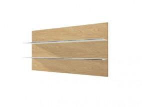 Závěsný panel Corano - typ 09 (bílá/dub) - Z EXPOZICE