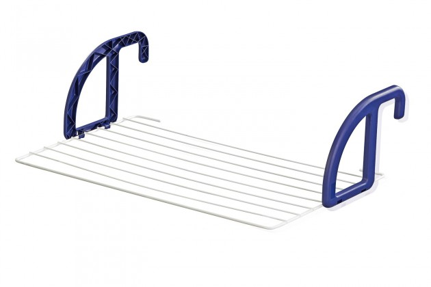 Závěsný sušák na prádlo 70 (bílo-fialový)