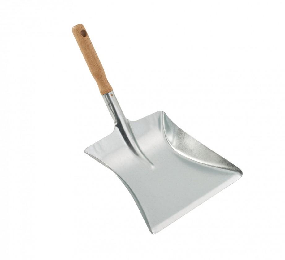 Železná lopatka (dřevo, stříbrná)