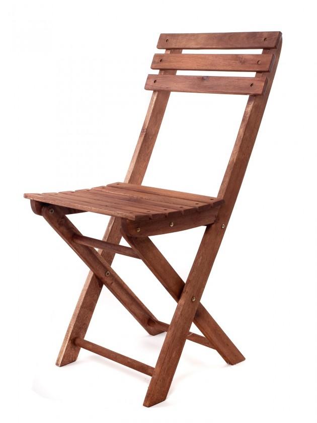 Židle skládací Acacia (přírodní)