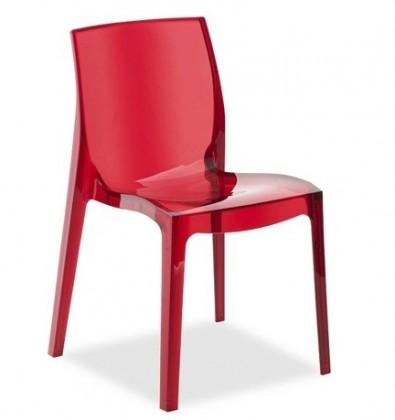 Zlevněné kuchyně, jídelny Jídelní židle Femme Fatale (červená) - II. jakost