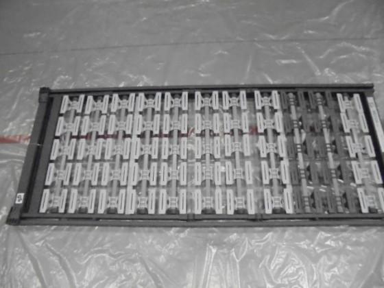 Zlevněné ložnice Rošt 3D-Motion KF metalic 80x200