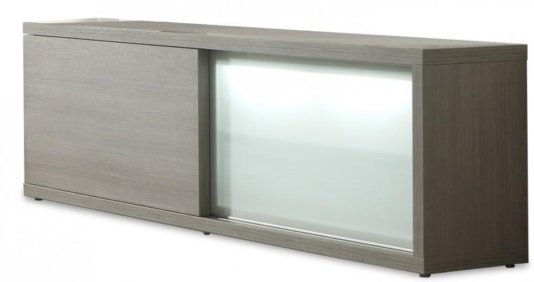 Zlevněné obývací pokoje Cova - Příborník 220 C002(dub šedý)