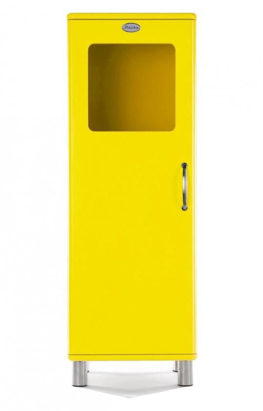 Zlevněné obývací pokoje Malibu - Vitrína (žlutá)