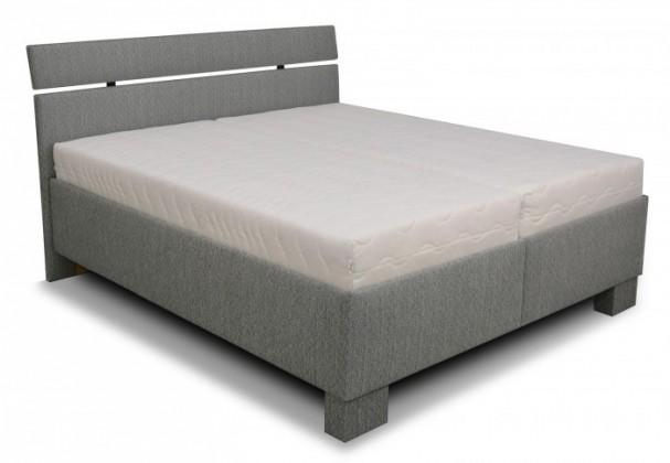 Zlevněné postele Čalouněná postel Antares 180x200, vč. matrace, poloh. roštu a úp