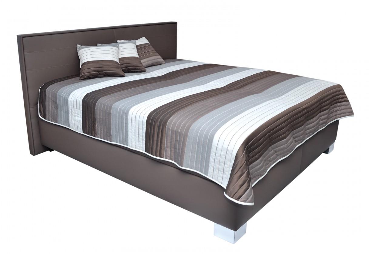 Zlevněné postele Čalouněná postel Grand 180x200 vč. poloh. roštu, úp, bez matrace