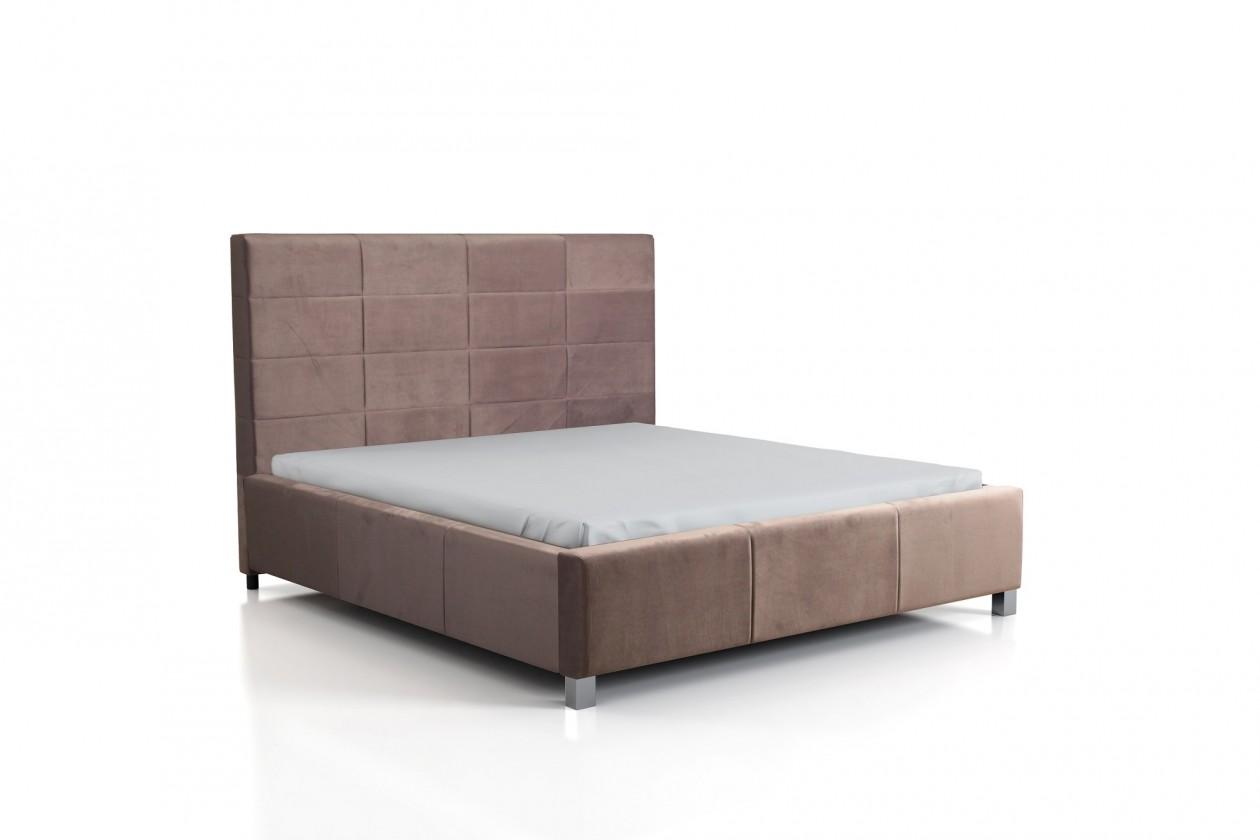 Zlevněné postele Čalouněná postel San Luis 160x200 - PŘEBALENO
