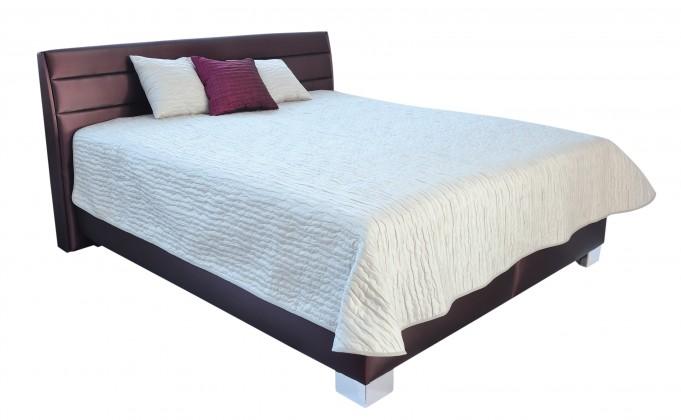 Zlevněné postele Čalouněná postel Vernon 180x200 vč.roštu,úp,bez mat - II. jakost