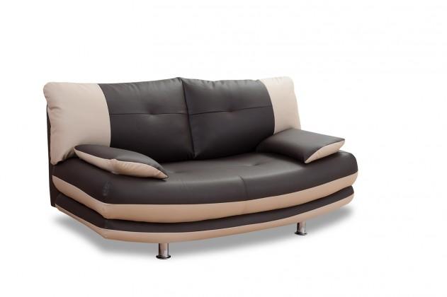 Zlevněné sedací soupravy Dvojsedák Maliboo (eko kůže)