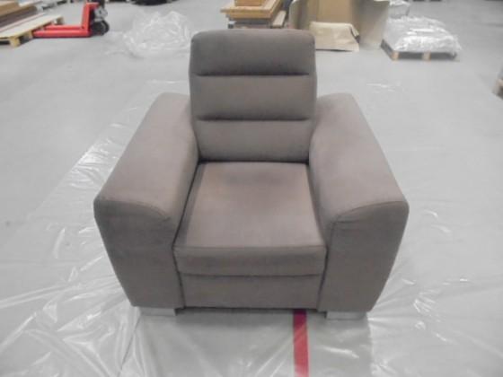 Zlevněné sedací soupravy Fenix - Křeslo (casablanca 2306) - II. jakost