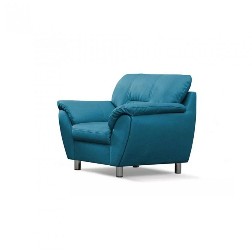 Zlevněné sedací soupravy Křeslo Amigo modrá - Z EXPOZICE