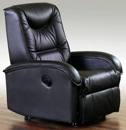 Zlevněné sedací soupravy Křeslo Jeff polohovací černá -  Z EXPOZICE
