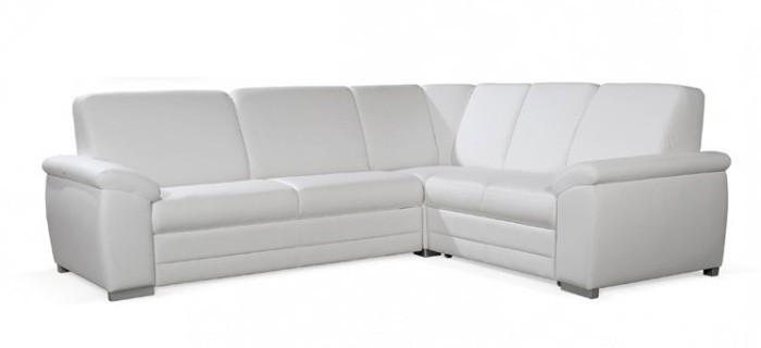 Zlevněné sedací soupravy Nuuk - Sedací souprava (cayenne 1111 white)