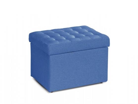 Zlevněné sedací soupravy Taburet Surprise obdélník modrá ÚP - II. jakost