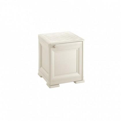 Zlevněný zahradní nábytek Skříňka Omnimodus - 8085562/210 (bílá) - II. jakost