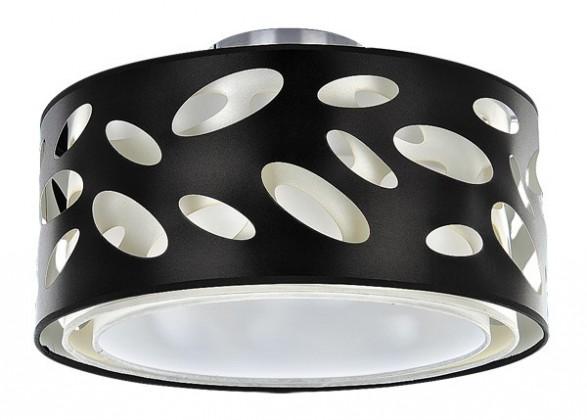 Zola - Stropní osvětlení, 2210 (chromová/černá)