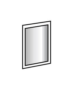 Zrcadla Davos - zrcadlo (alpská bílá 734)