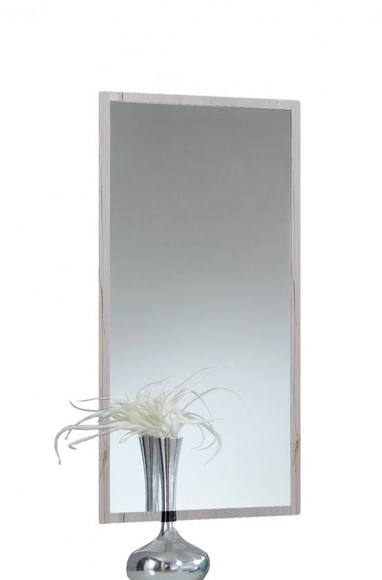 Zrcadla Susan 803919(803 - bílý dub, chromové doplňky )