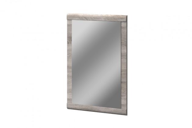 Zrcadlo Balboa - typ 05 (dub bardolino/bílá arctic vysoký lesk)