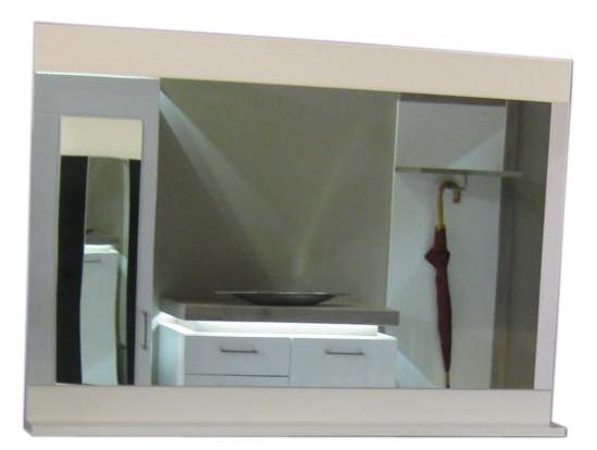 Zrcadlo Denver Typ 11 (bílá arctic)