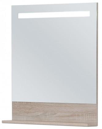 Zrcadlo do koupelny Sens - Zrcadlo 60 cm s LED osvětlením (sonoma)